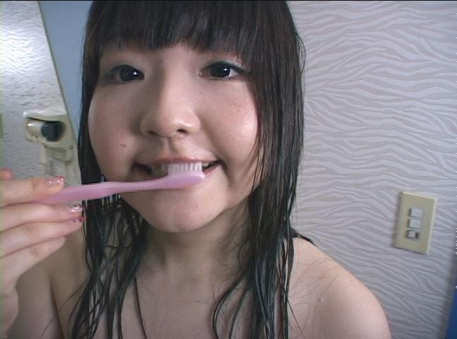 究極の歯磨きフェチビデオ降臨「歯磨きTIME」